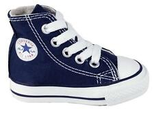 Converse Chuck Taylor All Star Hi Navy White Infant Toddler Boy Girl Size 2-10