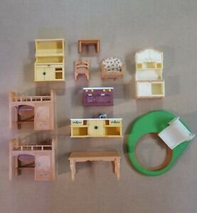 Calico Critters Sylvanian Family Furniture Lot