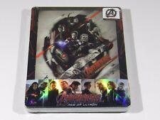 Avengers Age of Ultron 3D+2D Blu-ray Steelbook 1/4 Slip Ed Novamedia #53/200