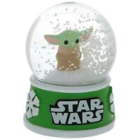 2020 Disney Star Wars The Child Baby Yoda Mandalorian 45mm Snow Globe NEW W TAG