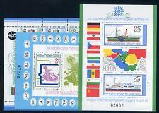 Bulgaria bl.112+116+117 ** EUROPA me 70,- (100028)