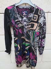 Robe DESIGUAL Dream dress fille noir à motifs 7 8 ans