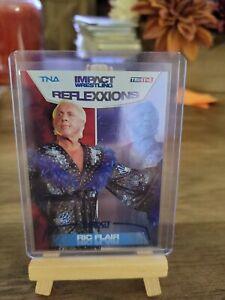 2012 Tristar TNA Impact Reflexxions Blue Foil Insert #R6 Ric Flair /40