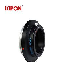 NEW Kipon Adapter For Nikon F Lens to Fuji Fujifilm G-Mount GFX 50S Camera Pro