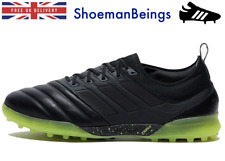 Adidas Copa 19.1 Astroturf Football Boots Leather Size 10 Black PRO VERSION