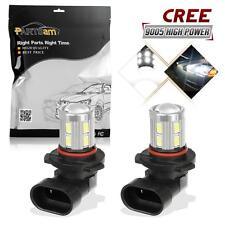 2 X High Power 9145 9140 H10  Bulbs For Driving Fog Light White CREE Q5 SMD LED