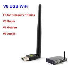 TR5370 Wireless USB WiFi LAN Antenna Adapter for Satellite TV Receiver V7 V8 V9S