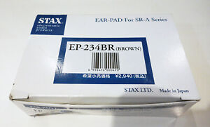 Stax ear pad SR Lambda Series EP-234BR brown