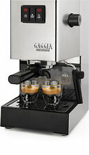 Gaggia Classic, Edelstahl Espressomaschine NEU Siebträger