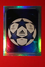 PANINI CHAMPIONS LEAGUE 2010/11 # 3 THE BALL BLACK BACK MINT!