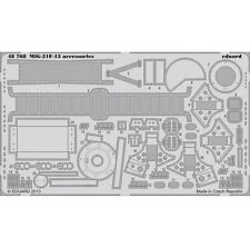 EDUARD 1/48 PHOTO-ETCHED ACCESSORIES for TRUMPETER MIG-21F-13