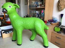 More details for garden ornament lamb sheep figurine home decor farm shop fitting display prop