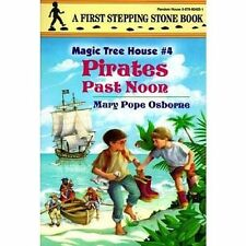 Pirates Past Noon by Mary Pope Osborne (Paperback, 1994) Magic Tree House 4