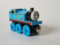 VINTAGE WOOD THOMAS The Tank Engine & Friend Wooden Railway Train GOOD CONDITION
