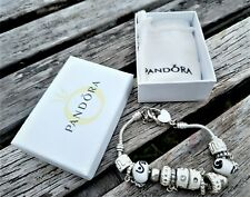 Pandora Charm Bracelet with Felt Bag