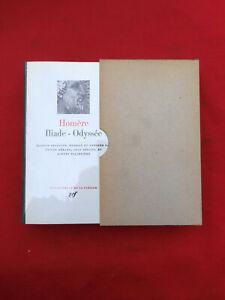 PLEIADE  HOMERE Iliade Odyssée 1975