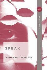 Speak by Laurie Halse Anderson (2006, Paperback)