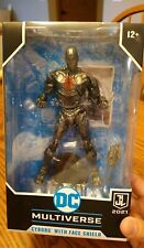 McFarlane DC Multiverse Snyder Justice League 2021 Cyborg 7? Face Shield IN HAND