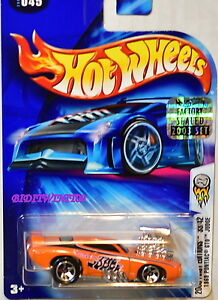 HOT WHEELS 2003 FIRST EDITIONS 1969 PONTIAC GTO JUDGE #045 ORANGE FACTORY SEALED