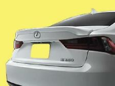 Fits: Lexus 2014+ IS250/300/350 Factory Style Flush Mnt Rear Spoiler in Primer