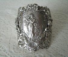 Art Nouveau Cuff Bracelet, victorian art deco edwardian renaissance medieval