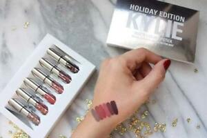 Kylie Jenner Holiday Edition 6 Piece Lipstick Set with retail package