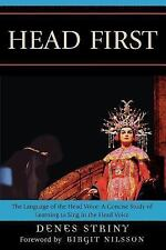 Head First: The Language of the Head Voice: A Concise Study of Learning to Sing