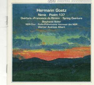 Goetz - Overtures Spring & Francesca da Rimini / Psalm 137 / Nenie - cpo CD