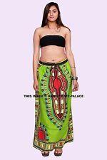 Boho Women African Clothing Dashiki Skirt Traditional Cloth Print Dress Clubwear