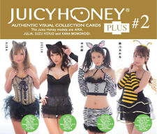 2019 Juicy Honey Plus #2 * 72-card SET * Aika, Julia, Suzu Honjo & Kana Momonogi