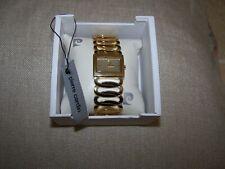 Pierre Cardin (genuine) ladies gold open link bracelet watch