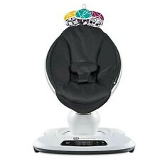 4moms mamaRoo 4 Classic Infant Seat in Black music, toys, Mp3 and Bluetooth
