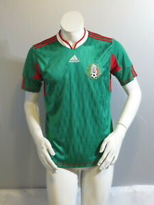 Team Mexico Jersey - 2010 Home Jersey by Adidas - Youth Extra-Large
