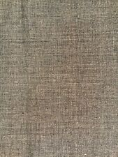 BY THE METRE 100% Organic Cotton Fabric, Textured Woven, Beige/Brown, 120cm wide