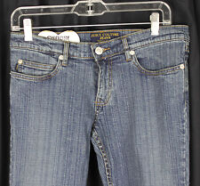 New NWT Juicy Couture Jeans Denim Dark Blue Wash 2298 Slight Flare Size 27