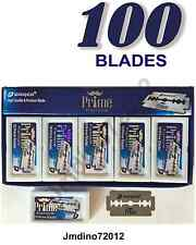 100 Dorco Prime Platinum Double Edge Razor Blades-Barber Favored