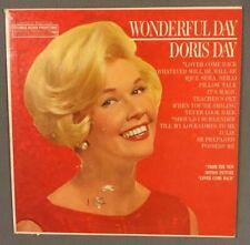 DORIS DAY -WONDERFUL DAY -33RPM RECORD ALBUM -COLUMBIA #XTV-82021/22 -1961