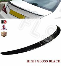 MERCEDES CLA CLASS W117 C117 AMG REAR TRUNK BOOT LIP SPOILER 2014 UP GLOSS BLACK