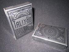 Black Diamond Tally Ho Playing Cards Jackson Robinson - Rare, MetalLuxe, Foil
