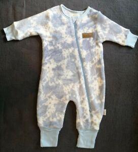 Hoolies Fleece Baby Grow Sleepsuit, 3-6 months