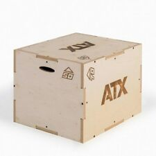 ATX Wooden Plyo Box ATX-PLY-3B // Jump Squat Multi Height Gym Cardio Crossfit