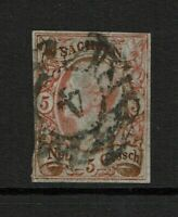 Saxony SC# 13, Used - S8675