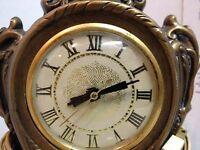 ~Landshire clock movement-Cherubs-Ceramic clock