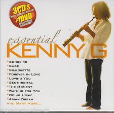 NEW - Esencial Kenny G  CD 3 CDs + 1 DVD 15 Videos