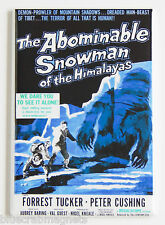 Abominable Snowman of the Himalayas FRIDGE MAGNET horror movie poster