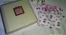 Baby Girl Album New In Box, Onesy Size 3Mo Brand New!