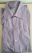 chemise homme mauve clair lilas petits carreaux 39-40 M Finest Taylor City