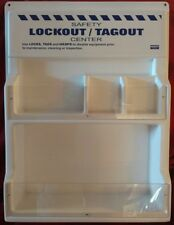"North Safety Lockout/Tagout Center Station 18""x24"" no contents New other"
