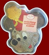 Wilton **MICKEY MOUSE FACE** Cake Pan with INSERT!