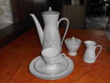 Markenporzellan - Rosenthal-Kaffeeservice-